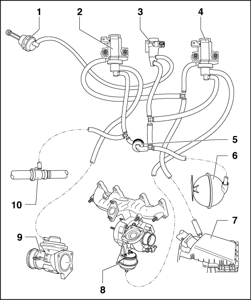 Ford 6 0 Powerstroke Engine Diagram moreover Volvo Engine Oil Leak besides 2006 Audi A4 Quattro 2 0t Engine Diagram as well 2000 Ford F150 4 2 Liter V6 Engine Diagram For Engine Coolant Temperature Sensor in addition RepairGuideContent. on 2004 audi a4 exhaust
